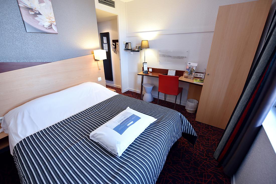 Chambres hôtel Kyriad Gare