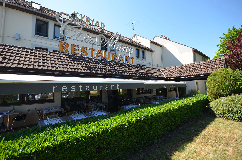 Restaurant h tels kyriad dijon h tels gare centre for Hotels dijon