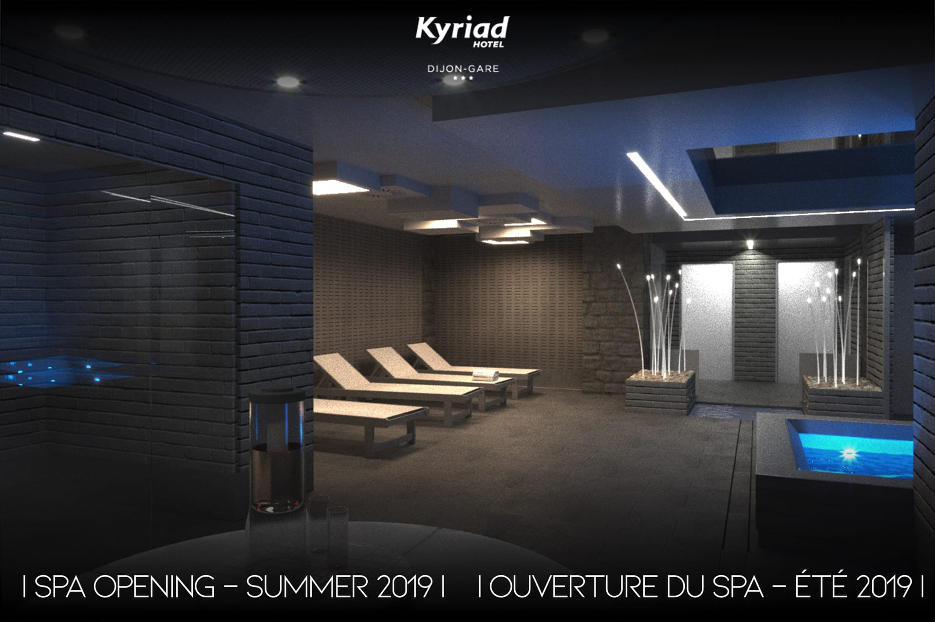 Spa hôtel Kyriad Dijon Gare