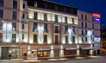 Réservation hôtel Kyriad Dijon Gare