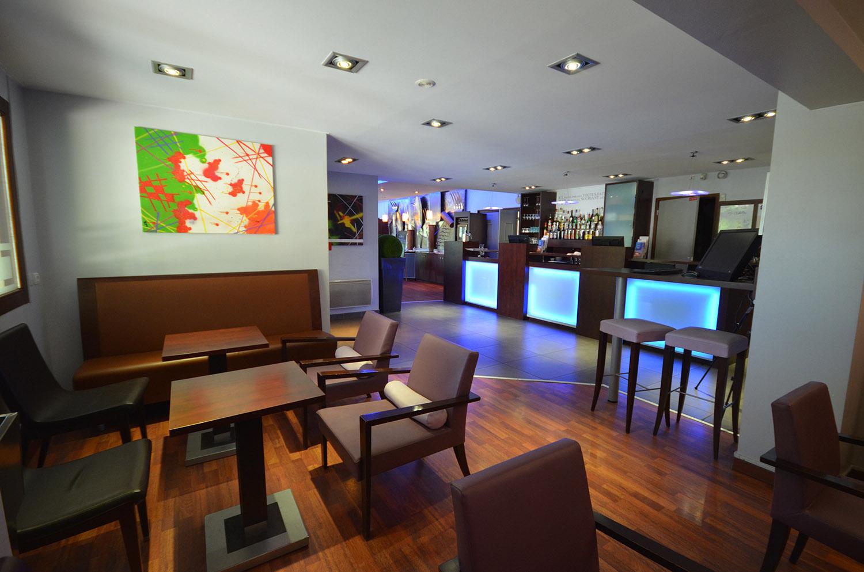 Hall hôtel Kyriad Mirande